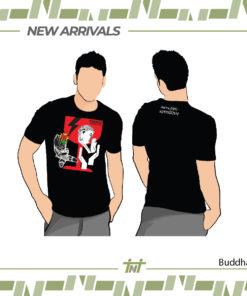 เสื้อ Buddha สีดำ